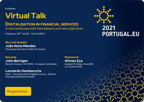 Tertúlia virtual: Digitalização nos Serviços Financeiros | 26 de fev.